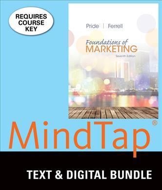 Foundations of Marketing + Lms Integrated for Mindtap Marketing, 1 Term - 6 Months Access Card