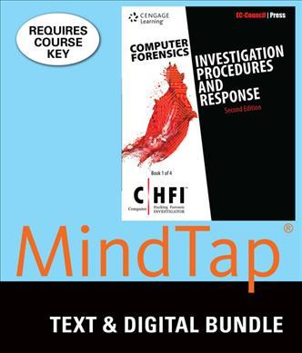 Computer Forensics + Lms Integrated for Mindtap Information Security, 1 Term - 6 Months Access Card