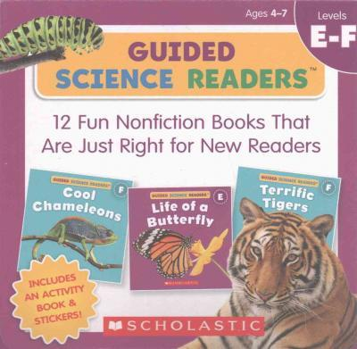 Guided Science Readers: Levels E-F (Parent Pack)