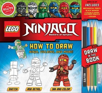 Lego Ninjago How To Draw Ninja Villains And More Pat Murphy