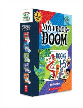 The Notebook of Doom, Books 1-5: A Branches Box Set : Troy