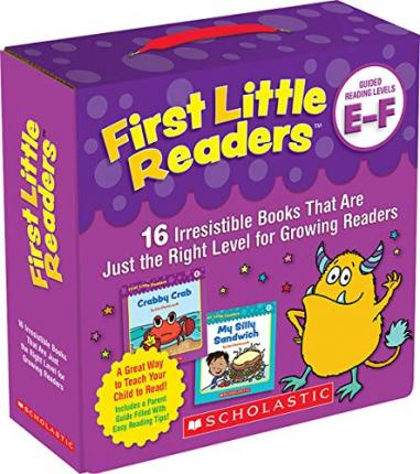 First Little Readers: Guided Reading Levels E & F (Parent Pack)