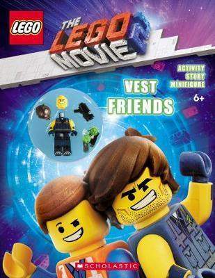 The LEGO Movie 2 Vest Friends Activity Book with Minifigure