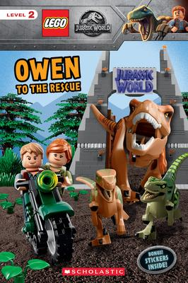 Owen to the Rescue (Lego Jurassic World: Reader with Stickers