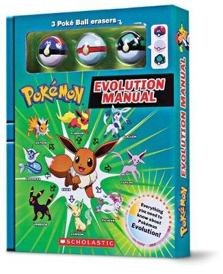 Pokemon: Evolution Manual (Battle Box with Erasers)