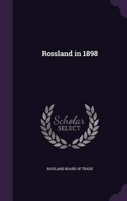Rossland in 1898
