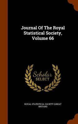 Journal of the Royal Statistical Society, Volume 66