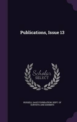 Publications, Issue 13