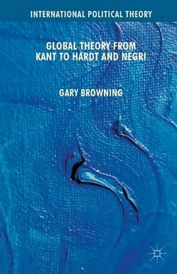 hegel and the history of political philosophy browning gary professor