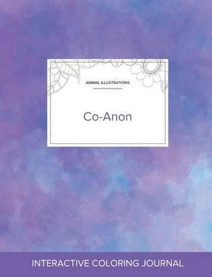 Adult Coloring Journal : Co-Anon (Animal Illustrations, Purple Mist)