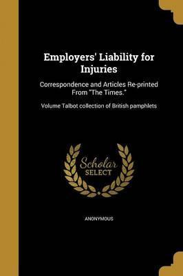 Employers' Liability for Injuries