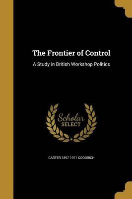 The Frontier of Control