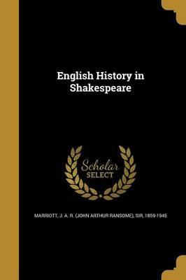 English History in Shakespeare