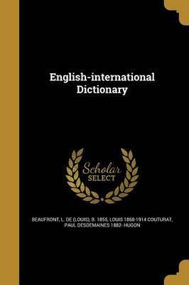 English-International Dictionary
