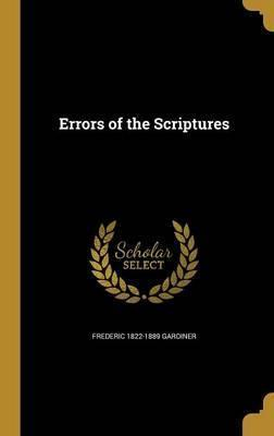 Errors of the Scriptures