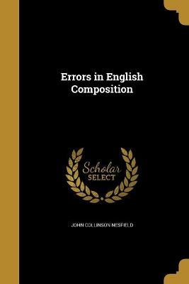 Errors in English Composition
