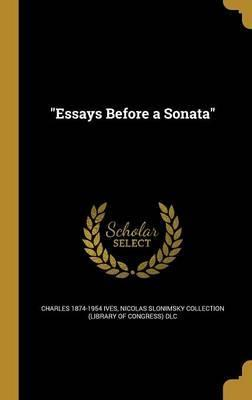 Essays Before a Sonata (Ives, Charles)