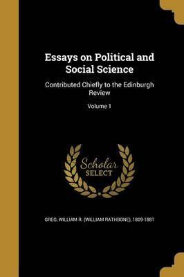 Essays on Political and Social Science
