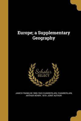 Europe; A Supplementary Geography