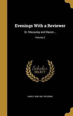 Evenings with a Reviewer