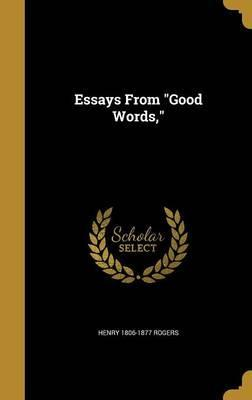 Essays from Good Words,