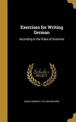 Exercises for Writing German