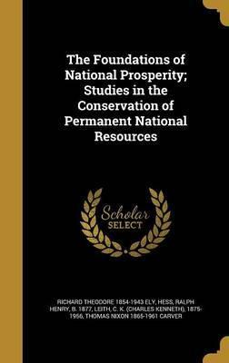 The Foundations of National Prosperity; Studies in the Conservation of Permanent National Resources