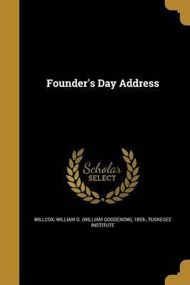 Founder's Day Address