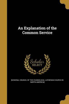 An Explanation of the Common Service