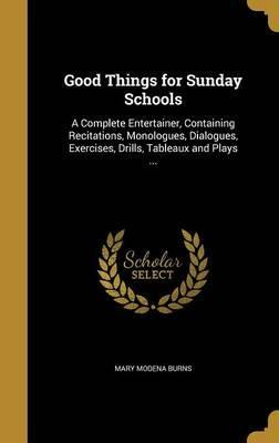 Good Things for Sunday Schools