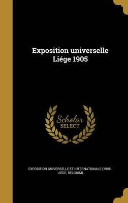 Exposition Universelle Liege 1905