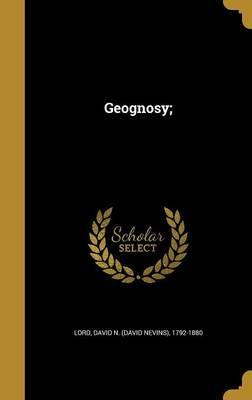 Geognosy;