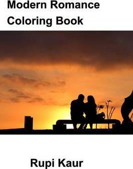 Modern Romance Coloring Book Cover Image