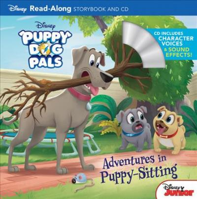 Puppy Dog Pals Read Along Storybook And Cd Adventures In Puppy