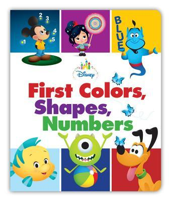 Disney Ba First Colors, Shapes, Numbers