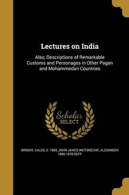 Lectures on India