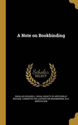 A Note on Bookbinding