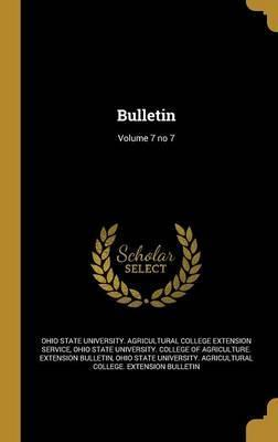 Bulletin; Volume 7 No 7