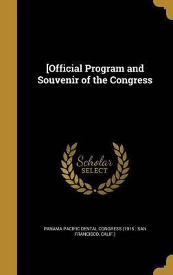 [Official Program and Souvenir of the Congress