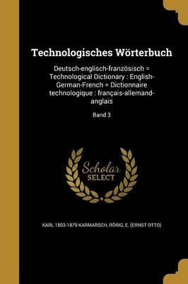 Technologisches Worterbuch