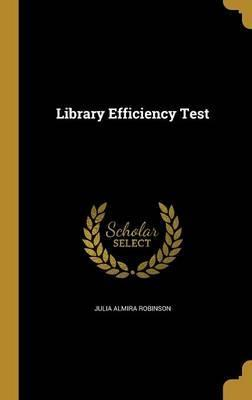 Library Efficiency Test