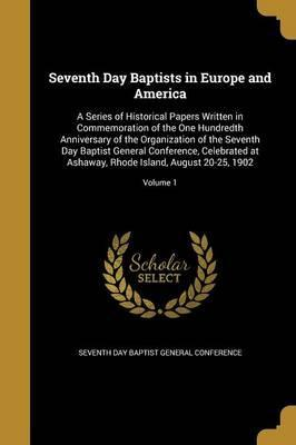 Seventh Day Baptists in Europe and America