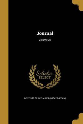 Journal; Volume 33