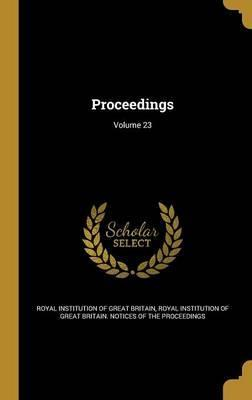 Proceedings; Volume 23
