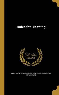 Rules for Cleaning