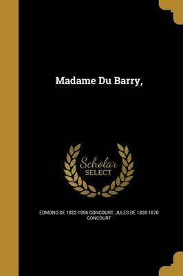 Madame Du Barry,