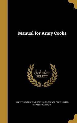 Manual for Army Cooks
