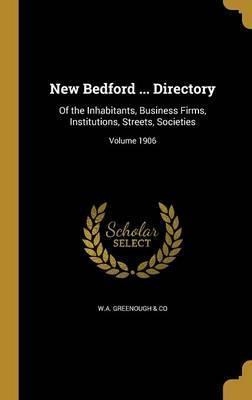 New Bedford ... Directory