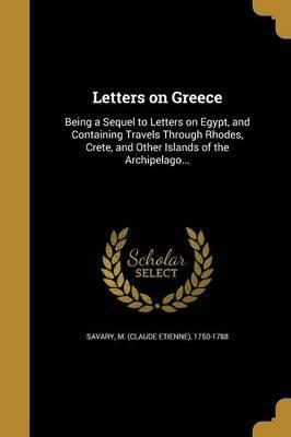 Letters on Greece