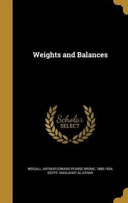 Weights and Balances